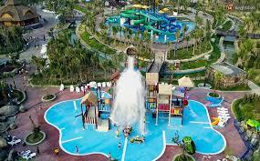 Sân chơi nước là sân chơi mà mọi trẻ em đều yêu thích