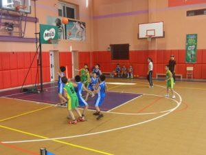 Sàn thi đấu bóng rổ